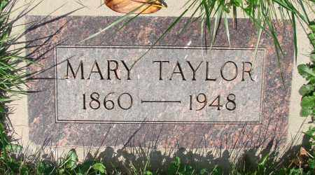 TAYLOR, MARY - Marion County, Oregon   MARY TAYLOR - Oregon Gravestone Photos