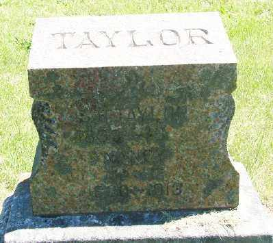TAYLOR, SAMUEL H - Marion County, Oregon | SAMUEL H TAYLOR - Oregon Gravestone Photos