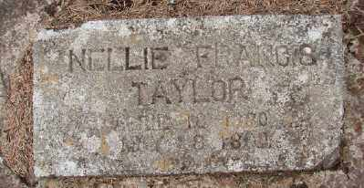 TAYLOR, NELLIE FRANCES - Marion County, Oregon | NELLIE FRANCES TAYLOR - Oregon Gravestone Photos