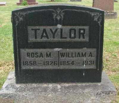 TAYLOR, ROSA M - Marion County, Oregon   ROSA M TAYLOR - Oregon Gravestone Photos