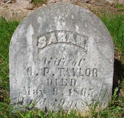 TAYLOR, SARAH - Marion County, Oregon | SARAH TAYLOR - Oregon Gravestone Photos