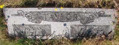 TAYLOR, THOMAS - Marion County, Oregon | THOMAS TAYLOR - Oregon Gravestone Photos