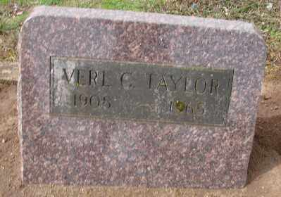 TAYLOR, VERL G - Marion County, Oregon | VERL G TAYLOR - Oregon Gravestone Photos