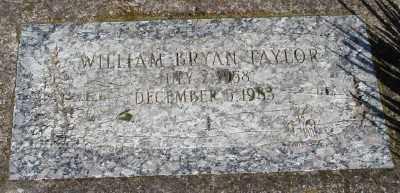 TAYLOR, WILLIAM BRYAN - Marion County, Oregon | WILLIAM BRYAN TAYLOR - Oregon Gravestone Photos