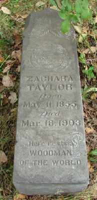 TAYLOR, ZACHARA - Marion County, Oregon   ZACHARA TAYLOR - Oregon Gravestone Photos