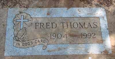 THOMAS, FRED NILES - Marion County, Oregon | FRED NILES THOMAS - Oregon Gravestone Photos