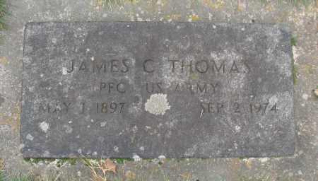 THOMAS (SERV), JAMES C - Marion County, Oregon | JAMES C THOMAS (SERV) - Oregon Gravestone Photos
