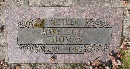 ETZEL THOMAS, MARY - Marion County, Oregon | MARY ETZEL THOMAS - Oregon Gravestone Photos