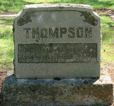 SMITH THOMPSON, LORENA HELEN - Marion County, Oregon | LORENA HELEN SMITH THOMPSON - Oregon Gravestone Photos