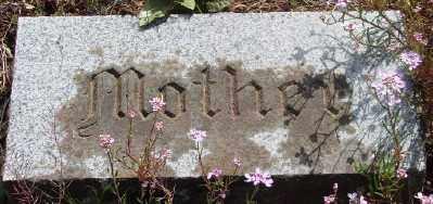 CAWRSE THOMPSON, JANE - Marion County, Oregon | JANE CAWRSE THOMPSON - Oregon Gravestone Photos