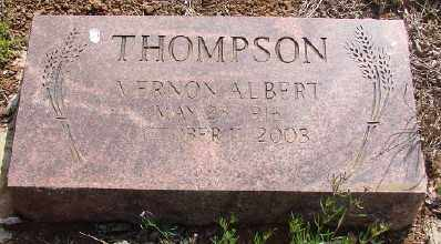 THOMPSON, VERNON ALBERT - Marion County, Oregon   VERNON ALBERT THOMPSON - Oregon Gravestone Photos