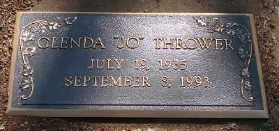 THROWER, GLENDA - Marion County, Oregon | GLENDA THROWER - Oregon Gravestone Photos