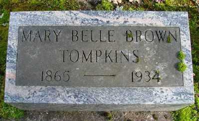 TOMPKINS, MARY BELLE - Marion County, Oregon   MARY BELLE TOMPKINS - Oregon Gravestone Photos