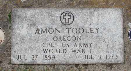 TOOLEY (WWI), AMON - Marion County, Oregon | AMON TOOLEY (WWI) - Oregon Gravestone Photos