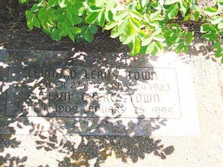 TOWN, LEONARD LEROY - Marion County, Oregon | LEONARD LEROY TOWN - Oregon Gravestone Photos