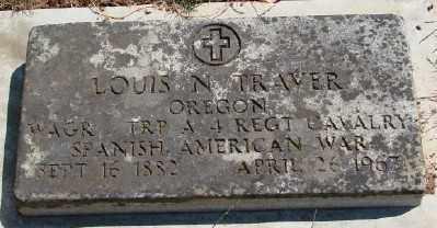 TRAVER (SA), LOUIS N - Marion County, Oregon | LOUIS N TRAVER (SA) - Oregon Gravestone Photos