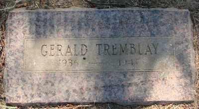 TREMBLAY, GERALD - Marion County, Oregon   GERALD TREMBLAY - Oregon Gravestone Photos