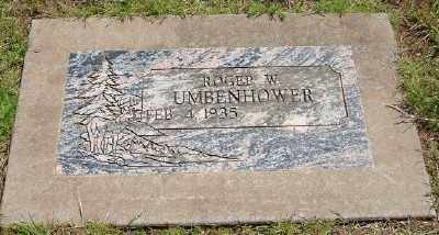 UMBENHOWER, ROGER W - Marion County, Oregon | ROGER W UMBENHOWER - Oregon Gravestone Photos