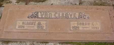 VAN CLEAVE, SARAH C - Marion County, Oregon   SARAH C VAN CLEAVE - Oregon Gravestone Photos