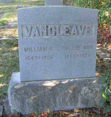 VAN CLEAVE, CALLIE ANN - Marion County, Oregon | CALLIE ANN VAN CLEAVE - Oregon Gravestone Photos