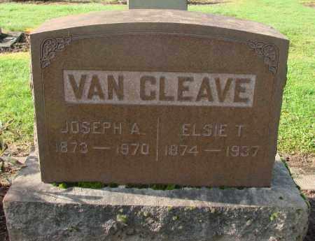 VAN CLEAVE, JOSEPH ALBERT - Marion County, Oregon | JOSEPH ALBERT VAN CLEAVE - Oregon Gravestone Photos