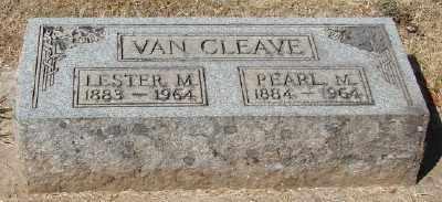 VAN CLEAVE, LESTER M - Marion County, Oregon   LESTER M VAN CLEAVE - Oregon Gravestone Photos
