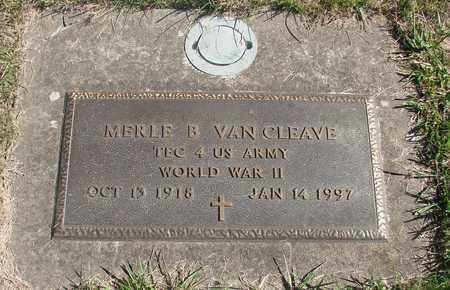 VAN CLEAVE, MERLE BENJAMIN - Marion County, Oregon | MERLE BENJAMIN VAN CLEAVE - Oregon Gravestone Photos