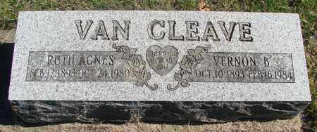 VAN CLEAVE, RUTH AGNES - Marion County, Oregon | RUTH AGNES VAN CLEAVE - Oregon Gravestone Photos