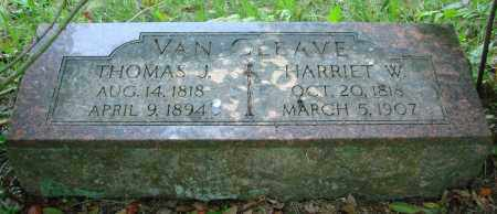 VAN CLEAVE, HARRIET W - Marion County, Oregon | HARRIET W VAN CLEAVE - Oregon Gravestone Photos