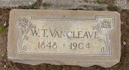 VAN CLEAVE, W T - Marion County, Oregon | W T VAN CLEAVE - Oregon Gravestone Photos