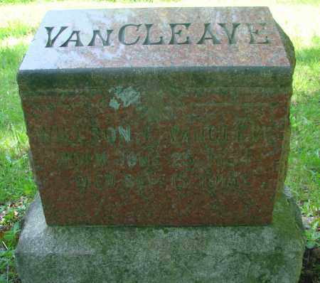 VAN CLEAVE, WILSON T - Marion County, Oregon | WILSON T VAN CLEAVE - Oregon Gravestone Photos