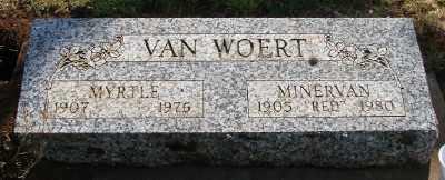 MEYER VAN WOERT, MYRTLE M - Marion County, Oregon | MYRTLE M MEYER VAN WOERT - Oregon Gravestone Photos