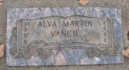 MARTIN, ALVA - Marion County, Oregon | ALVA MARTIN - Oregon Gravestone Photos