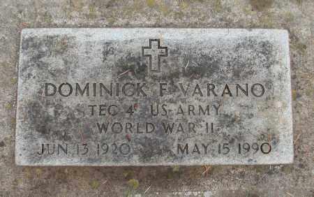 VARANO (WWII), DOMINICK F - Marion County, Oregon | DOMINICK F VARANO (WWII) - Oregon Gravestone Photos