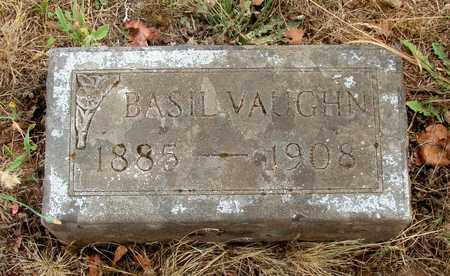 VAUGHN, BASIL - Marion County, Oregon | BASIL VAUGHN - Oregon Gravestone Photos