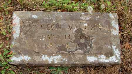VAUGHN, CECIL - Marion County, Oregon | CECIL VAUGHN - Oregon Gravestone Photos