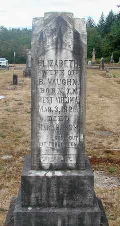 VAUGHN, ELIZABETH - Marion County, Oregon | ELIZABETH VAUGHN - Oregon Gravestone Photos