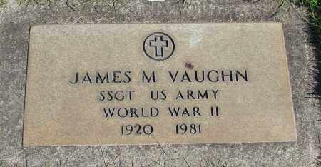 VAUGHN, JAMES M - Marion County, Oregon | JAMES M VAUGHN - Oregon Gravestone Photos