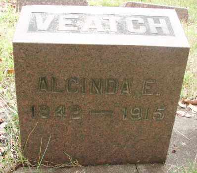 LAWRENCE VEATCH, ALCINDA ELIZABETH - Marion County, Oregon | ALCINDA ELIZABETH LAWRENCE VEATCH - Oregon Gravestone Photos