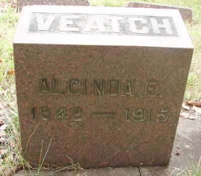 VEATCH, ALCINDA ELIZABETH - Marion County, Oregon | ALCINDA ELIZABETH VEATCH - Oregon Gravestone Photos