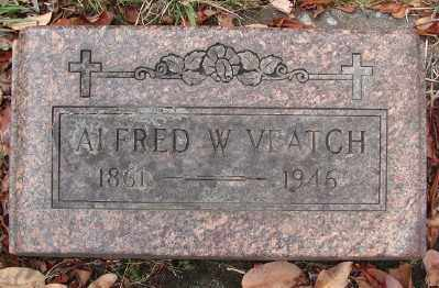 VEATCH, ALFRED W - Marion County, Oregon | ALFRED W VEATCH - Oregon Gravestone Photos