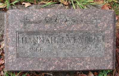 BLANTON VEATCH, HANNAH JANE - Marion County, Oregon | HANNAH JANE BLANTON VEATCH - Oregon Gravestone Photos