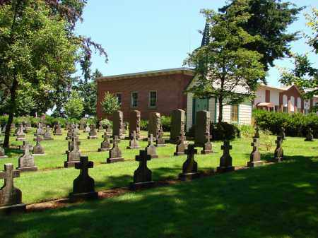 VIEW, MOUNT ANGEL ABBEY - Marion County, Oregon | MOUNT ANGEL ABBEY VIEW - Oregon Gravestone Photos