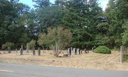 VIEW, PLEASANT GROVE CEMETERY - Marion County, Oregon | PLEASANT GROVE CEMETERY VIEW - Oregon Gravestone Photos