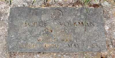VOLKMAN (WWI), GEORGE J - Marion County, Oregon | GEORGE J VOLKMAN (WWI) - Oregon Gravestone Photos