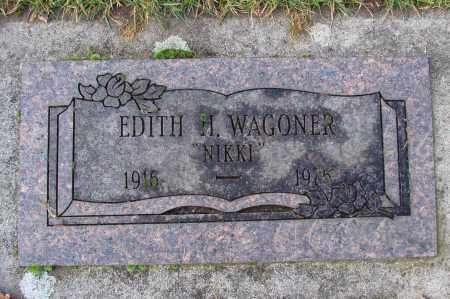 WAGONER, EDITH H - Marion County, Oregon | EDITH H WAGONER - Oregon Gravestone Photos