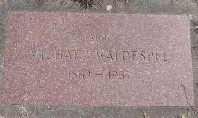 WALDESPEL, MICHAEL - Marion County, Oregon | MICHAEL WALDESPEL - Oregon Gravestone Photos