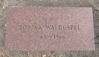 WALDESPEL, ROSINA - Marion County, Oregon | ROSINA WALDESPEL - Oregon Gravestone Photos