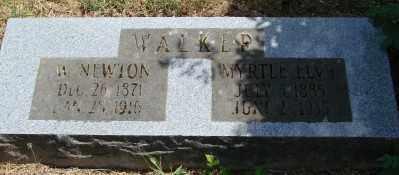 BUSICK WALKER, MYRTLE ELVY - Marion County, Oregon   MYRTLE ELVY BUSICK WALKER - Oregon Gravestone Photos