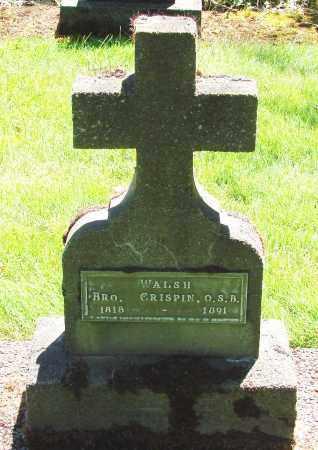 WALSH, CRISPIN - Marion County, Oregon | CRISPIN WALSH - Oregon Gravestone Photos